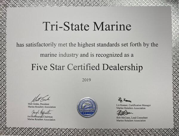certified dealer 2019