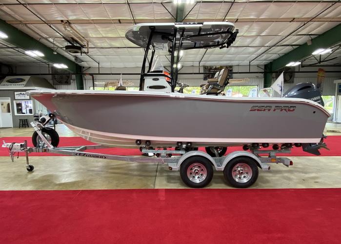 2021 Sea Pro 219 Deep-V CC